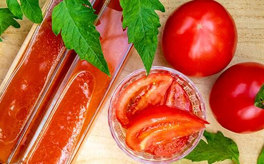 めぐみ農園のトマトドレッシング+大玉トマト約1kgのセット