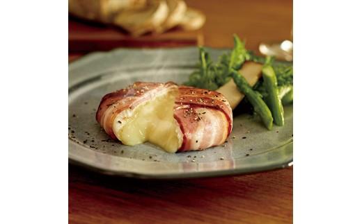 カマンベールチーズの調理イメージです。