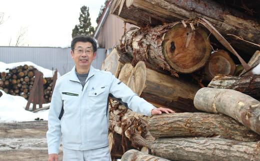 西和賀町から良質な薪をお届けします。西和賀町森林組合 藤田さん