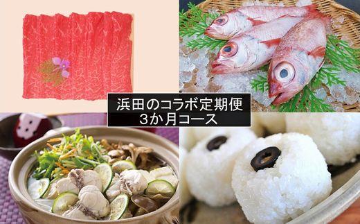 1094.【新春限定】浜田のコラボ定期便「3か月コース」