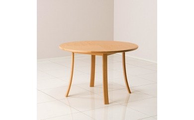 ルントオム 丸テーブル Φ110/北海道ナラNF