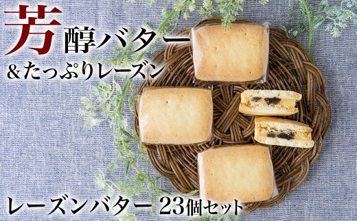 【期間限定!】レーズンバター 23個