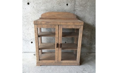ヒノキのアンティーク調Display shelf
