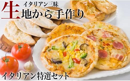 イタリアン三昧!ピザ カルツォーネ パイ 特選セット(冷凍ピザ)K-5