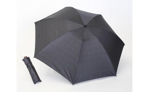 No.050 紳士ミニ傘 グレンチェック / 雨具 雨傘 折りたたみ傘 山梨県