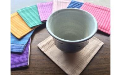 【伝統工芸品】真岡木綿コースター(小)5枚セット