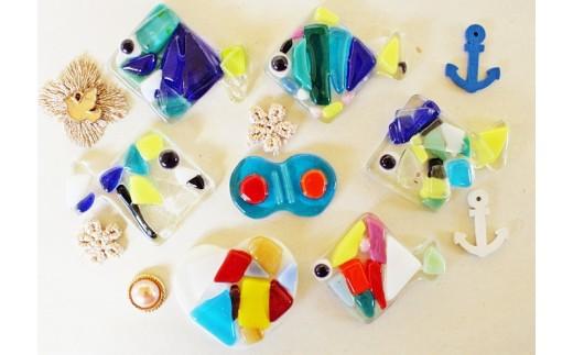 【キッズガラス体験1名様】お子様が自分で作るガラス体験
