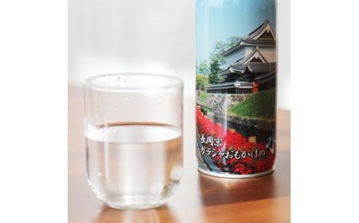 <製造日から10年保存可能>非常用備蓄水「長岡京ガラシャおもかげの水」490ml×24本【1102797】