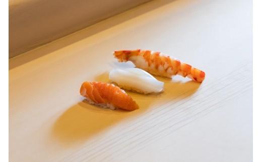 唐津の地魚を中心に握られた江戸前寿司