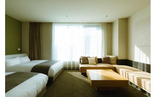 「HOTEL KARAE」デラックスルームです。ベッドマットはシモンズ製です。