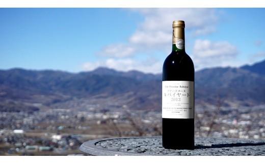 B2-617.【甲州市原産地呼称ワイン】2013プティ・ドメーヌ ルバイヤート 赤ミディアムボディ1本