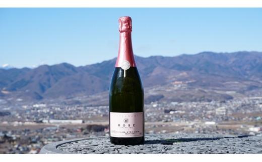 C-613.【甲州市原産地呼称ワイン】勝沼ロゼスパークリング2016 (ロゼ・スパ)1本