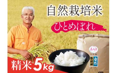 AT61-NT自然栽培米『ひとめぼれ』精米5㎏