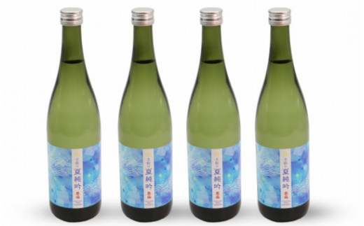 【夏限定】絵金祭りの振る舞い酒!豊能梅 土佐の夏純吟720ml×4本 D-82