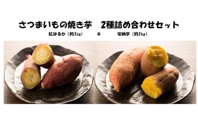 大崎町産 さつまいものお楽しみ 2種詰合せセット 【先行予約】(約2kg)