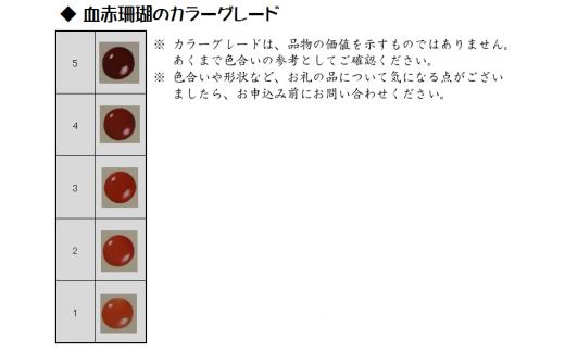 赤珊瑚玉ペンダントA
