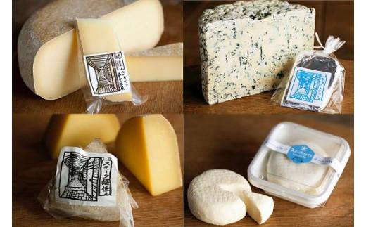 さらべつチーズ工房 チーズセット