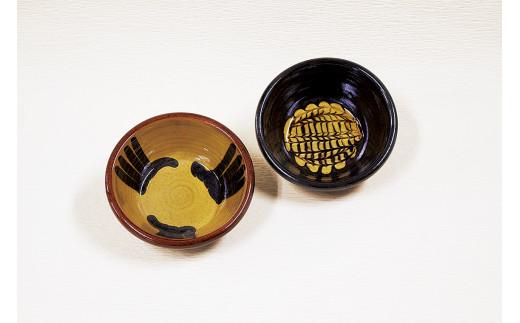 20020-43 スリップウェア切立鉢 2ヶ組