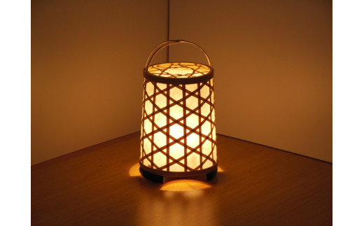 C1-5 竹細工 室内照明~なごみ~