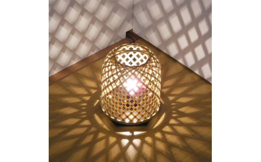 C1-4 竹細工 室内照明~光彩~