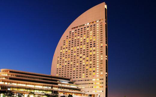 【共通:A-8】ヨコハマ グランド インターコンチネンタル ホテル デラックスルーム1室2名2食付ご宿泊券