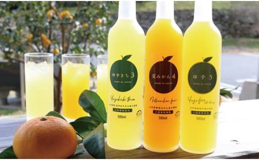 爽やか柑橘の濃厚ジュースセットA