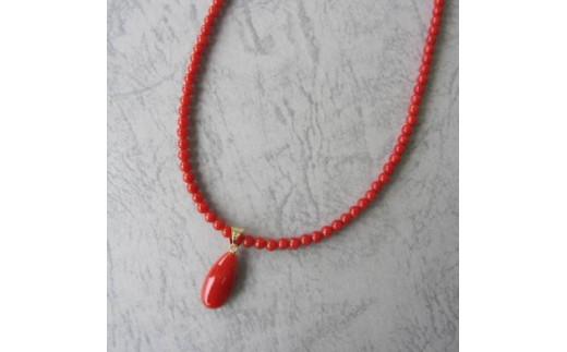 珊瑚職人館の珊瑚ネックレス11