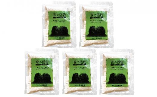 [№5539-0276]「森の贈物」天然ヒバ入浴剤(ヒバチップ入浴剤)×5個