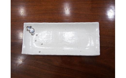 さんぽ猫サンマ皿4枚セット
