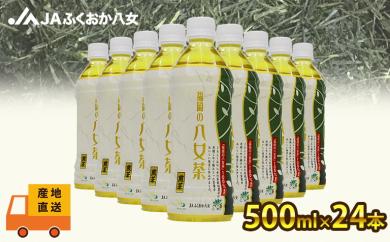 【産地直送】福岡の八女茶 煎茶ペットボトル(500ml×24本)