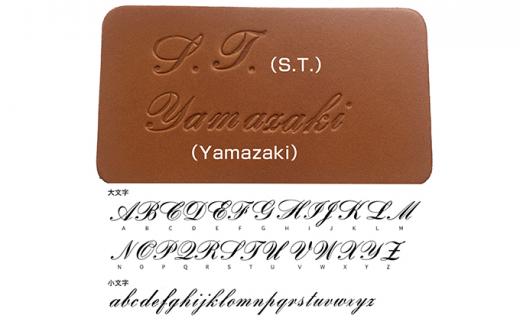 [№5665-0750]カードケース キャメル