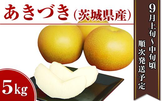 11-6茨城県産「あきづき」 5kg