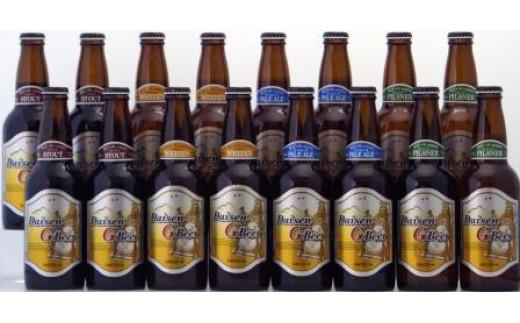 【新型コロナ対策】支援20-9 大山Gビール飲み比べ16本セット