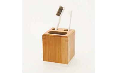 りんごの木の歯ブラシスタンド