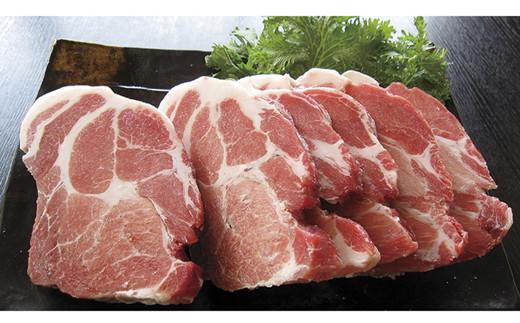 黒豚肩ロースステーキセット<約1.2kg:桑水流畜産> SK0143