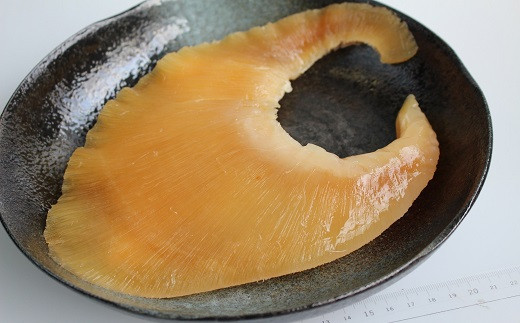 新開発された、貴重な特大サイズの姿煮。プリプリした食感を存分に味わうことができます!