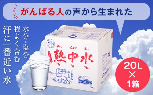A-053 夏に飲む水(熱中水) 20L