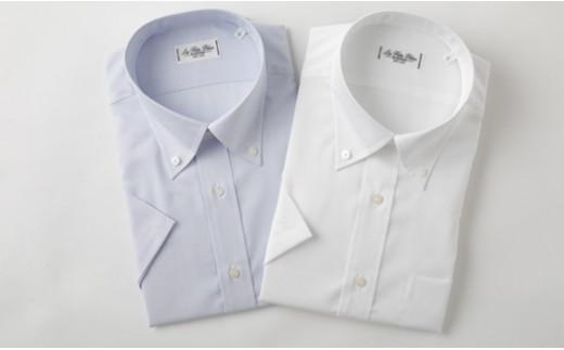 半袖 ボタンダウン 2枚 セット HITOYOSHI シャツ Lサイズ