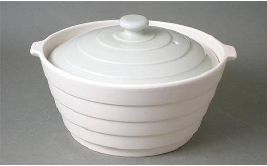 A10-137 アウトレット 有田焼 熱々のまま食卓へ「Only碗」(アイボリー)大慶