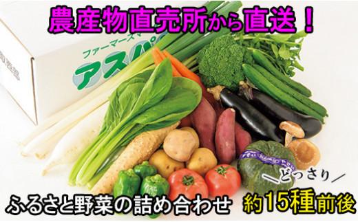 AS01:ふるさと野菜の詰め合わせ
