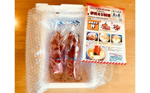 E103 ボイル冷凍伊勢えびセット 【緊急支援】