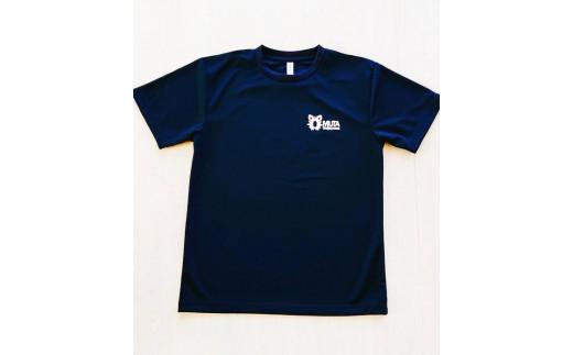 大蛇山Tシャツ【前】黒