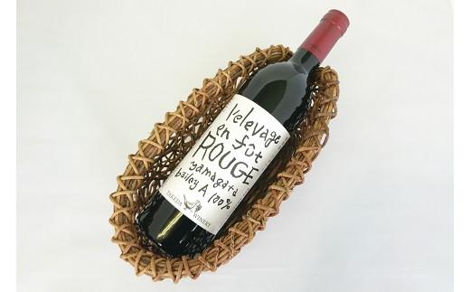0070-2016 樽熟成赤ワインとワインバスケット