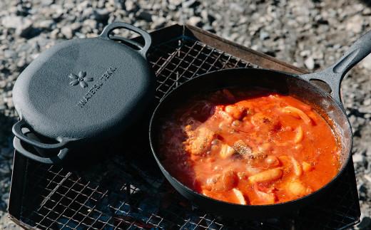利用者絶賛!万能鉄器 ダクタイル ディープパン&ダクタイルダッチオーブン