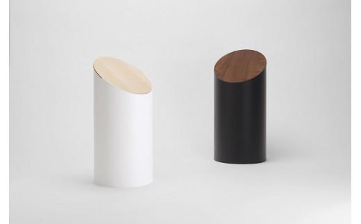 【参考】本体カラー(白)/蓋のカラー(ハードメープル)      本体カラー(黒)/蓋のカラー(ウォルナット)