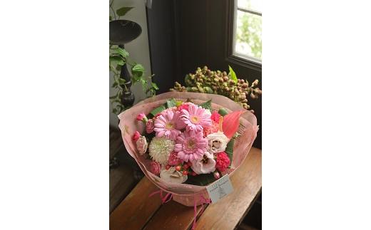 【生花花束】そのまま飾れるフレンチブーケS(3色カラバリ展開)