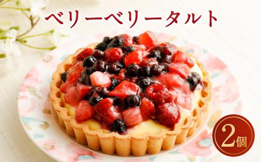 ベリーベリータルト 4号 2個 ケーキ タルト スイーツ お菓子 苺