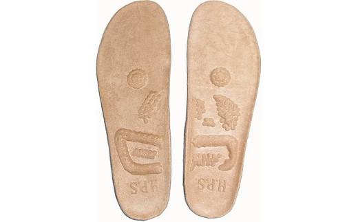 独自の突起で足ツボを刺激! 『健康を目指す靴』H.P.S.のインソール(中敷) ※厚手の作りになっております。
