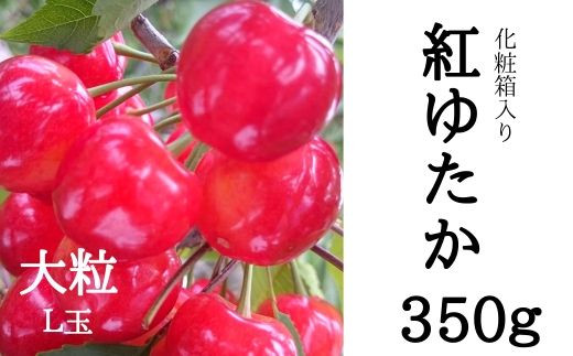 No.0534 紅ゆたか(特選L玉)350g 化粧箱入り