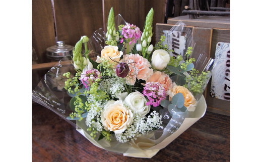 【誕生日に贈る】花工房パルテールのアレンジメント